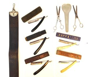 Some of my father's barbering tools  Photo: S. Marshall