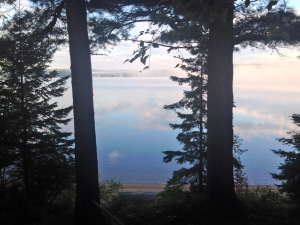Lake Kawawaymog mist IMG_4543